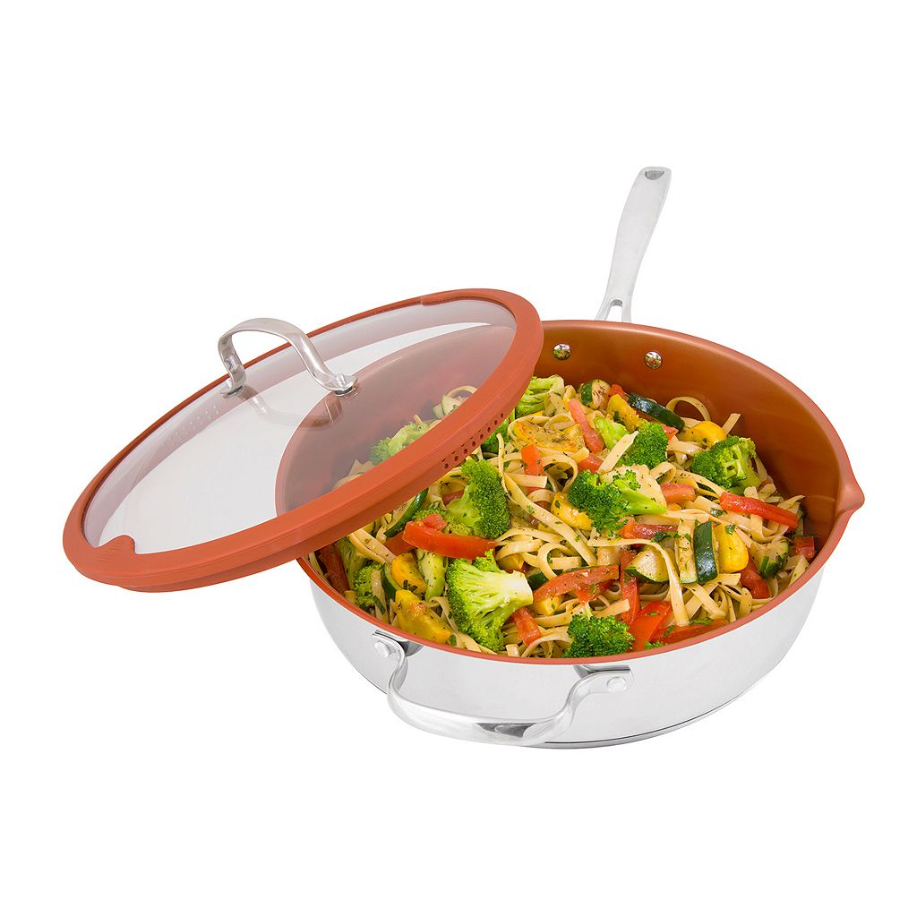 As Seen on TV NuWave 5-qt. Nonstick Ceramic Everyday Pan