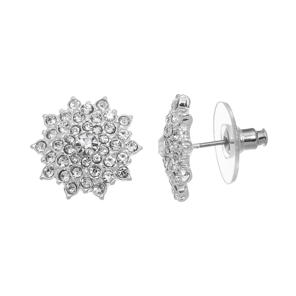 LC Lauren Conrad Cluster Stud Earrings