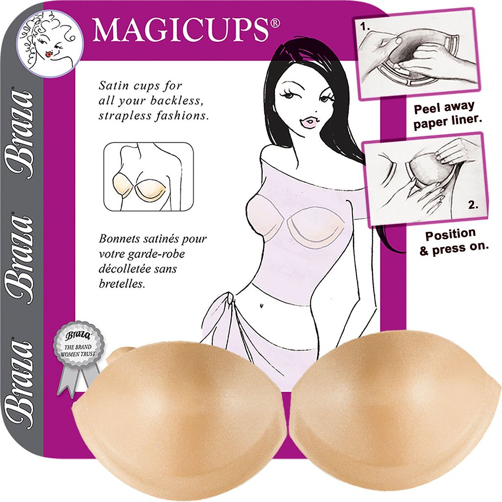 Braza Bra: Magicups Strapless Backless Adhesive Push Up Bra 7000