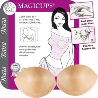 Braza Bra: Magicups Strapless Backless Adhesive Push Up Bra 7000