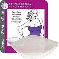 Braza Bra: Super Dolly Silicone Magic Bra Insert Pads 7351