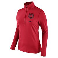 Women's Nike Georgia Bulldogs Tailgate Quarter-Zip Top