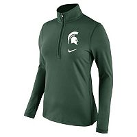 Women's Nike Michigan State Spartans Tailgate Quarter-Zip Top