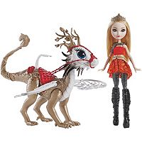 Ever After High Dragonrider Apple White & Braebyrn Set