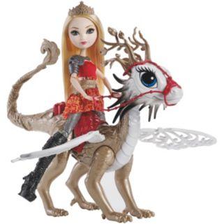 Ever After High Dragonrider Apple White & Braebyrn Set