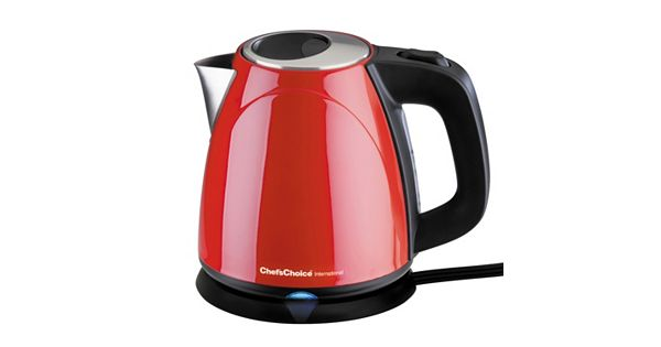 Chef Schoice International Cordless Compact Electric Kettle