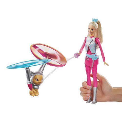 Barbie Star Light Adventure Galaxy Barbie Doll & Flying Cat Set