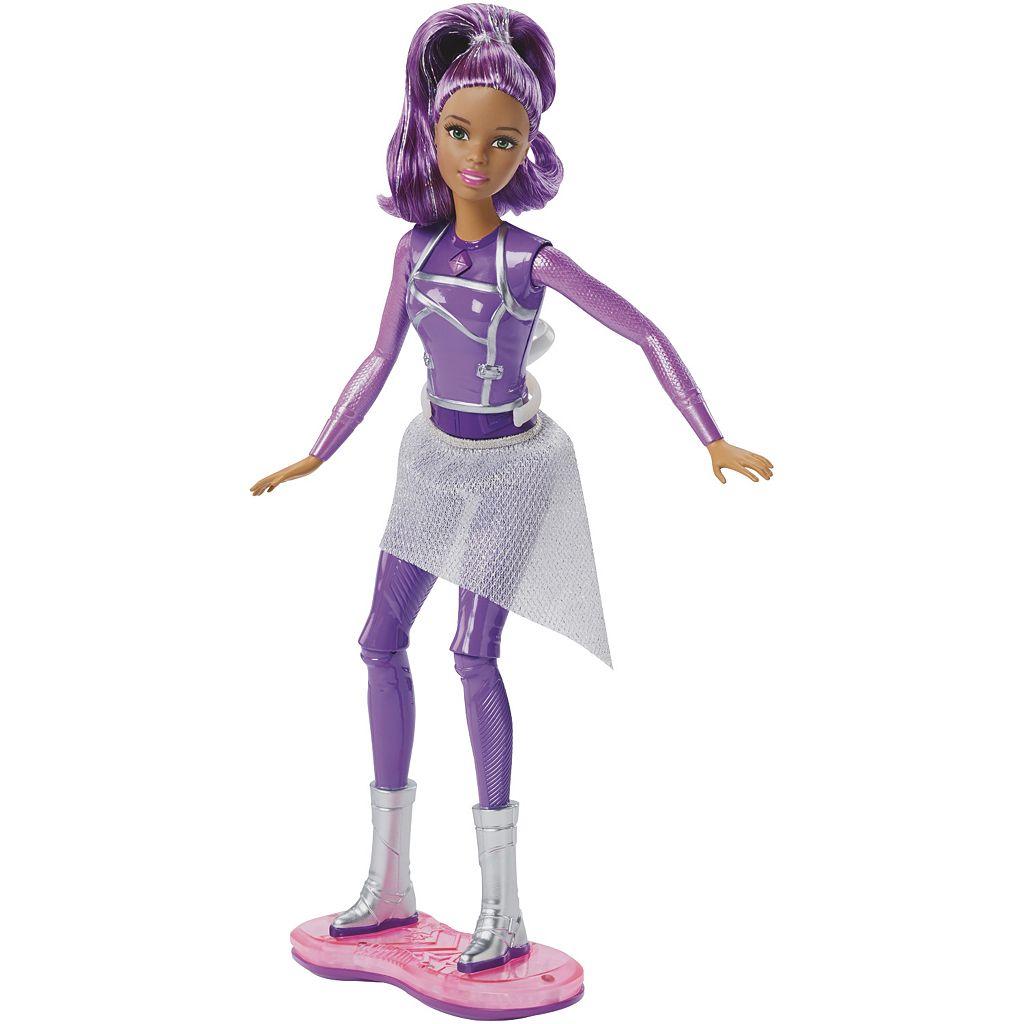 Barbie Star Light Adventure Lights & Sounds Hoverboarder Barbie Doll