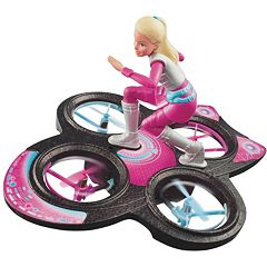Barbie Star Light Adventure Flying Remote Control Hoverboard by