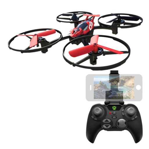 Sky Viper Red Hover Racer Drone by Sky Rocket