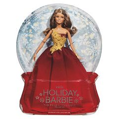 2016 Holiday Barbie Doll Red by