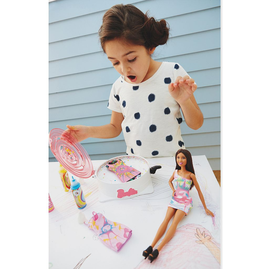Barbie Spin Art Designer with Doll