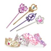 Melissa & Doug Role Play 8-pc. Dress-Up Tiaras & Wands Set