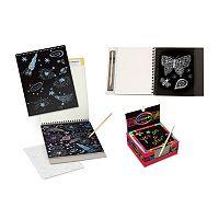Melissa & Doug Sketch Pad, Doodle Pad & Notes Scratch Art Bundle