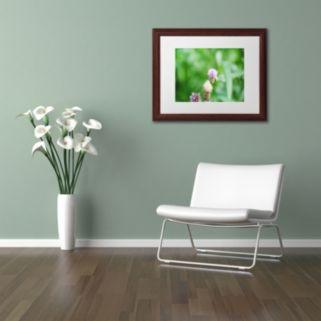 Trademark Fine Art If Only Wood Finish Framed Wall Art
