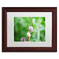 Trademark Fine Art If Only Wood Finish Framed Wall Art