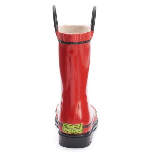 Western Chief Firechief 2 Boys' Waterproof Rain Boots
