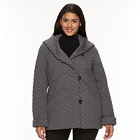Women's Gallery Hooded Quilted Fleece Jacket