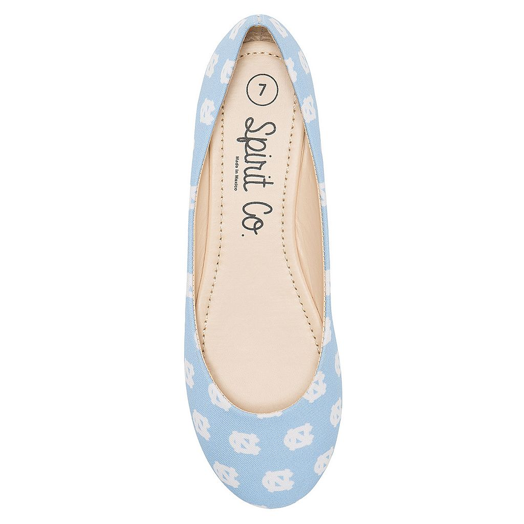 Women's Spirit Co. North Carolina Tar Heels Logo Ballet Flats