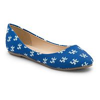 Women's Spirit Co. Kentucky Wildcats Logo Ballet Flats