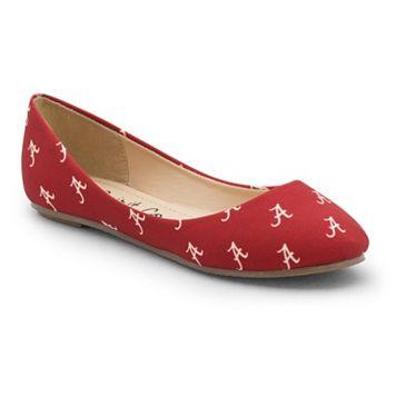 Women's Spirit Co. Alabama Crimson Tide Logo Ballet Flats