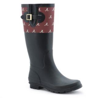 Women's Spirit Co. Alabama Crimson Tide Rain Boots