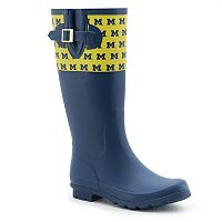 Women's Spirit Co. Michigan Wolverines Rain Boots