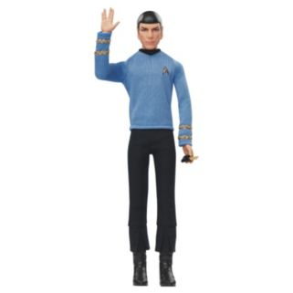 Barbie Star Trek 50th Anniversary Spock Doll