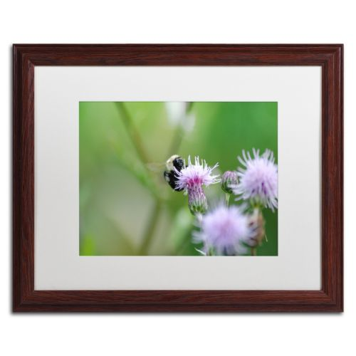 Trademark Fine Art Meant to Be Wood Finish Framed Wall Art