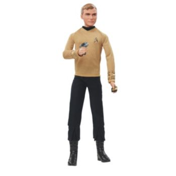 Barbie Star Trek 50th Anniversary Captain Kirk Doll