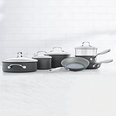 Food Network™ 11 pc Hard-Anodized Nonstick Ceramic Cookware Set