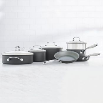 Food Network? 11-pc. Hard-Anodized Nonstick Ceramic Cookware Set