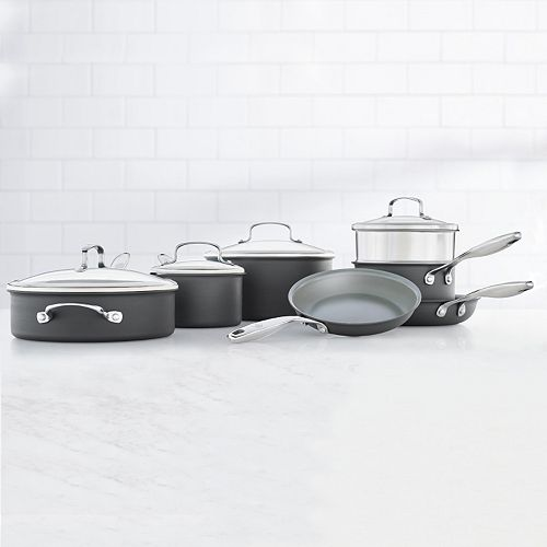 Food Network™ 11-pc. Hard-Anodized Nonstick Ceramic Cookware Set