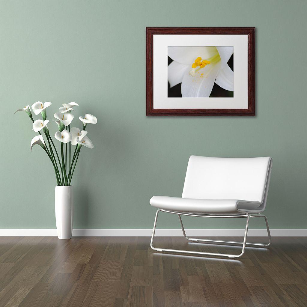 Trademark Fine Art One Word Matted Framed Wall Art