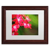 Trademark Fine Art Paired Ornament Matted Framed Wall Art