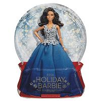2016 Holiday Barbie Doll - Blue