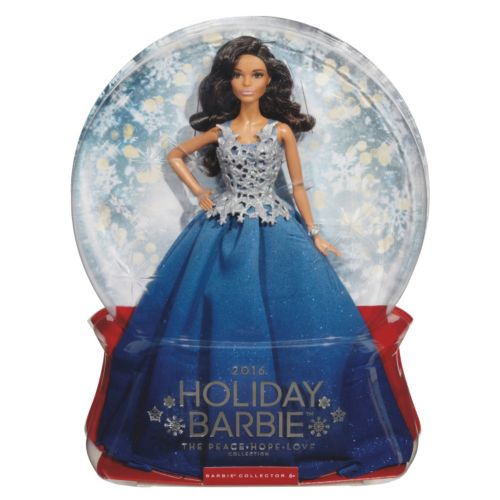 2016 Holiday Barbie Doll   Blue by Kohl's