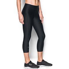 Women's Under Armour HeatGear Midrise Solid Capris