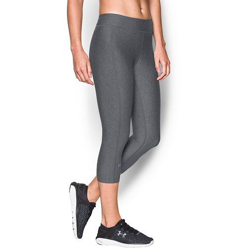 69a74ef475 Women's Under Armour HeatGear Midrise Solid Capris