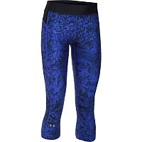 Women's Under Armour HeatGear Armour Print Capris