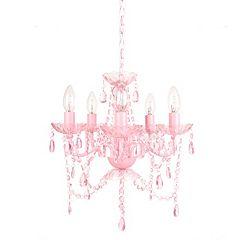 Tadpoles Venetian Style 5-Bulb Chandelier