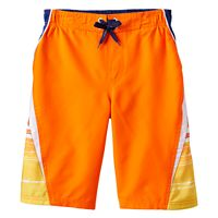 Boys 8-20 ZeroXposur Tropical Swim Trunks