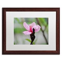 Trademark Fine Art Simplicity Matted Framed Wall Art