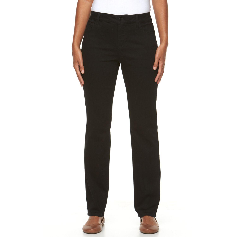 Womens Croft & Barrow? Classic Fit Straight-Leg Jeans