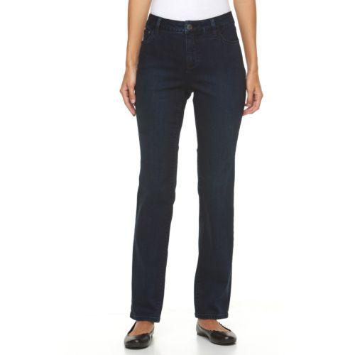 Women's Croft & Barrow® Classic Fit Straight-Leg Jeans