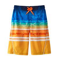Boys 8-20 ZeroXposur Sunset Gradient Swim Trunks
