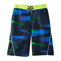 Boys' 8-20 ZeroXposur Fragment Swim Trunks