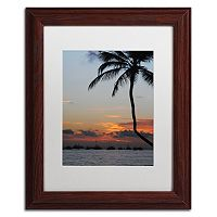 Trademark Fine Art Sinfully Warm Matted Framed Wall Art