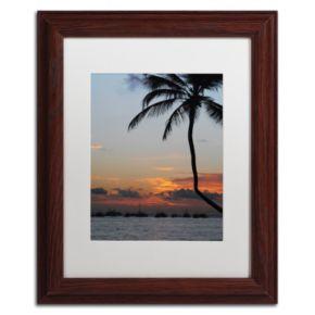 Trademark Fine Art Sinfully Warm Matted Framed Wall Art