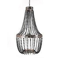 Tadpoles Embellished Metal Beaded Chandelier